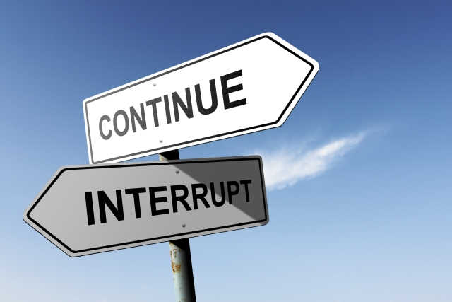 interrupt resample